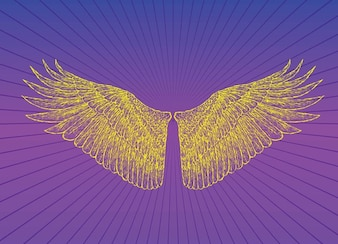 Heaven Wings Vector