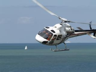 Helicopter, sea
