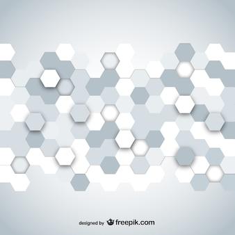 Hexagonal mosaic design