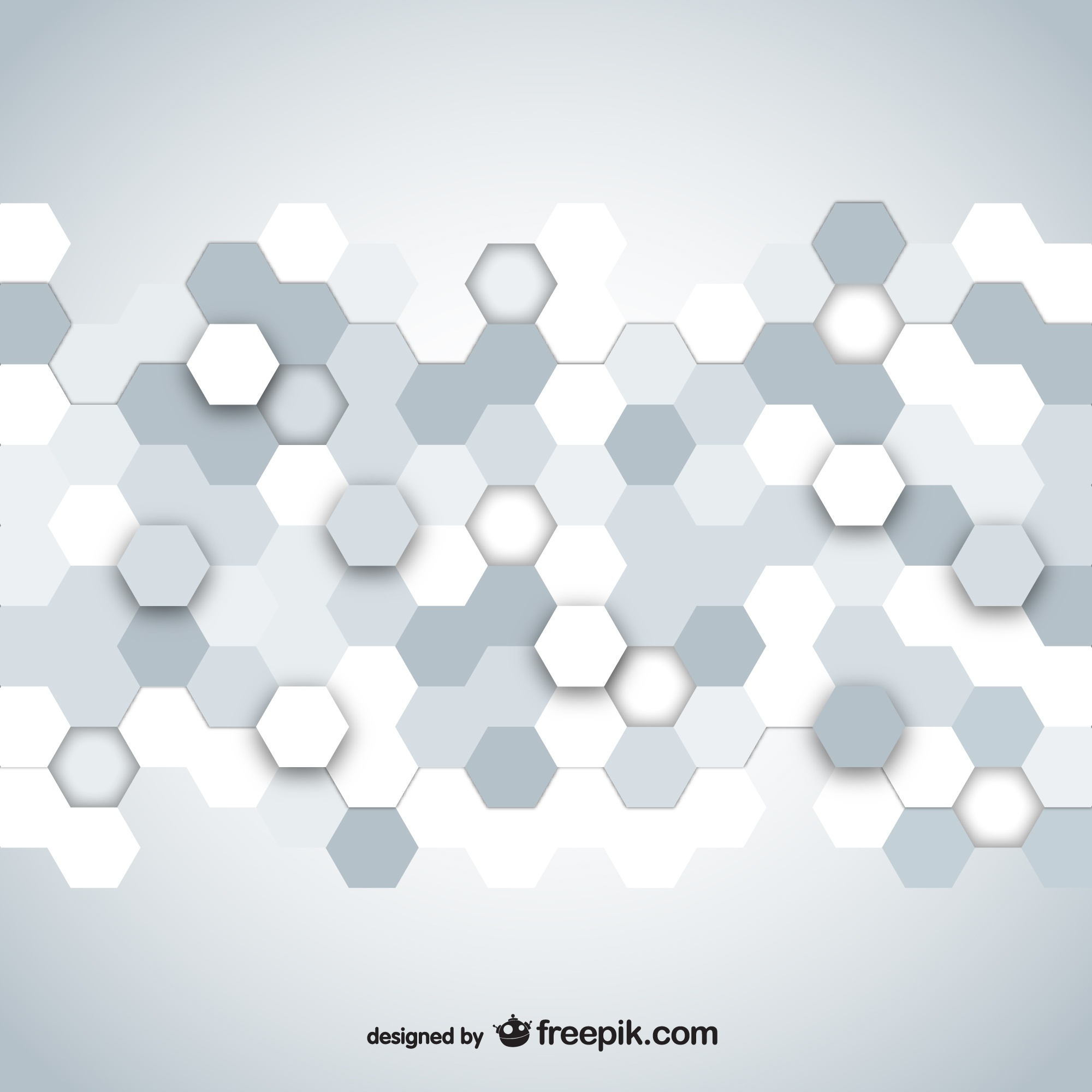 Hexagonal mosaic design