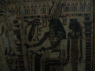 Hieroglyphs, drawings
