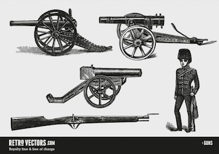 Historic weapons