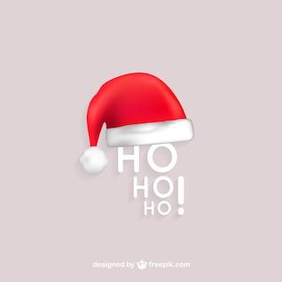 HO HO HO Santa vector