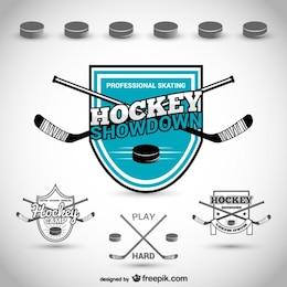Hockey club badge