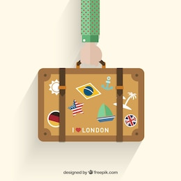 Holidays suitcase