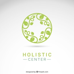 Holistic center logo