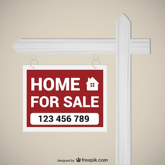 Home for sale sign