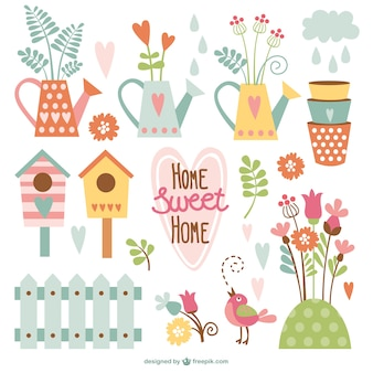 Home sweet home cartoons pack
