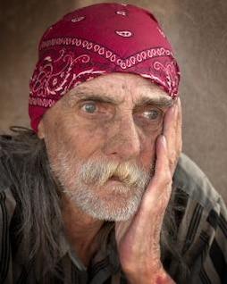Homeless Portraiture, beard