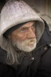 Homeless Portraiture, resolution