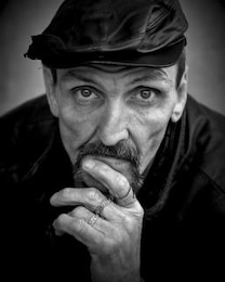 homeless portrature