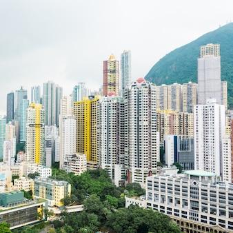 Hong Kong apartment block