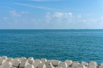 Horizon island outdoor bali view clear