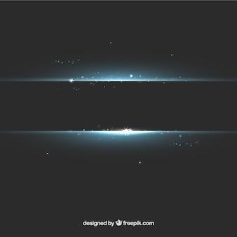 Horizontal lights background