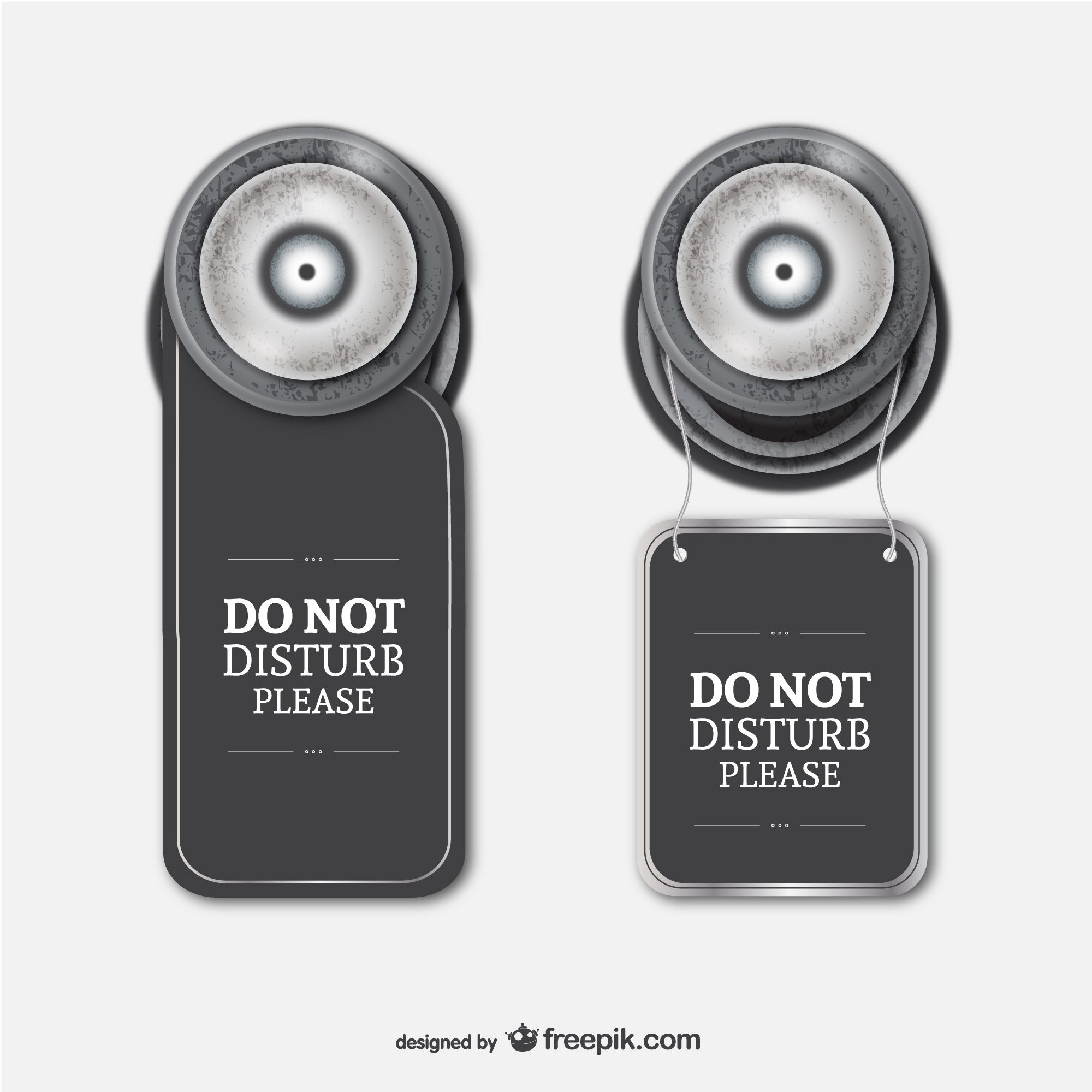 Hotel sign do not disturb vector
