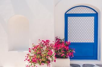 House blue summer aegean greece