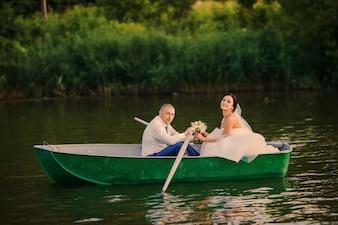 Husband paddled