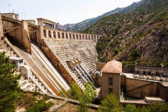 セグレの水力発電所