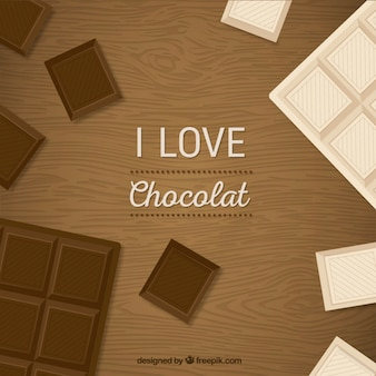 I love chocolat background