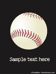 Icon baseball ball