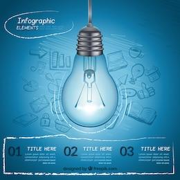 Idea infographic elements