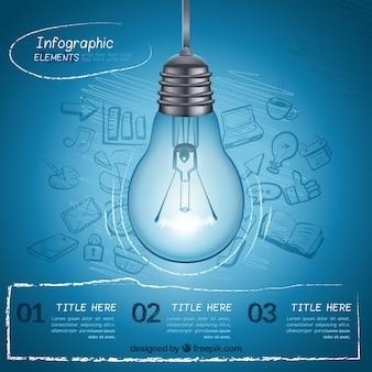 Idea infographic elements