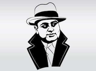 illustration of capone
