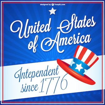 Independence day free vector