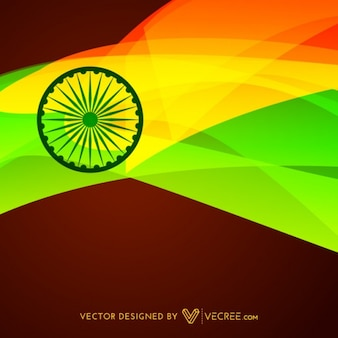 Indian flag design background