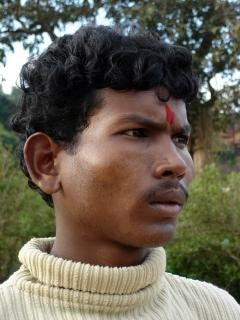 Indian man with tilak