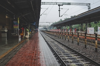 インドの鉄道駅