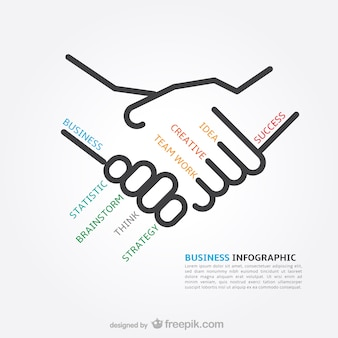 Infographic business concepts