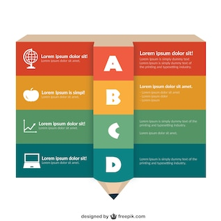 infographic template education