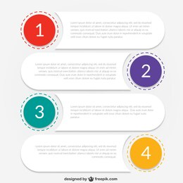 Infographic template for business