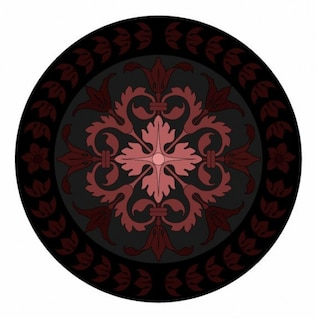 inlay ornament vector graphic
