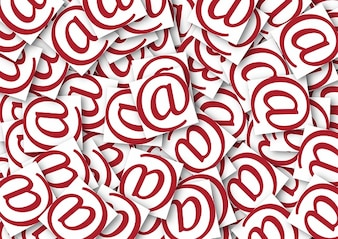 Internet mail junk spam email electronic