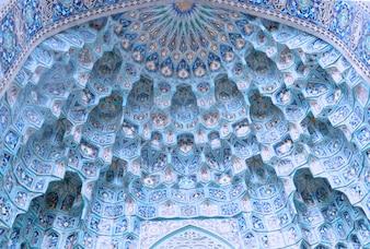 Islamic mosque ceiling