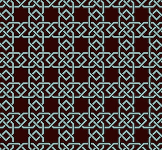 Islamic Ornamental Pattern Background