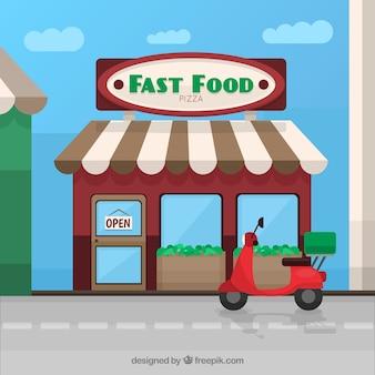 Italian fast food restaurant