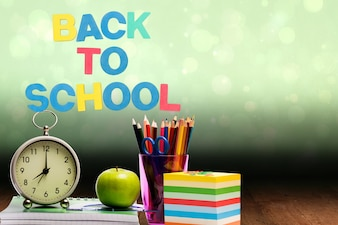 Items with the phrase back to school