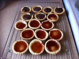 jam tarts  baking