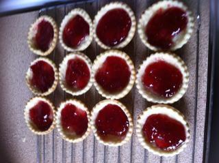 Jam tarts  baking  cooking