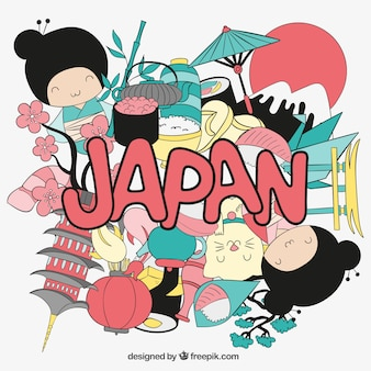 Japan illustration