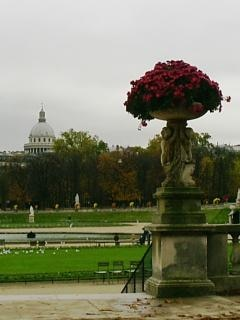 パリのリュクサンブール公園