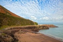jersey coastal scenery   hdr
