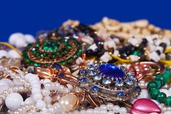 Jewellery background