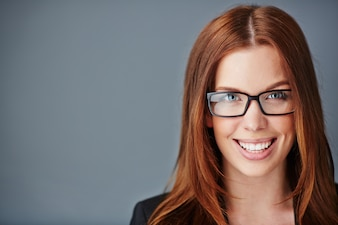 Job portrait young profession businesswoman