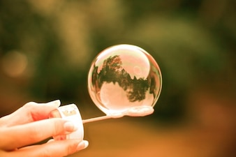 Just Colorful Bubble free photo