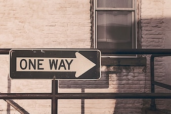 Just one way