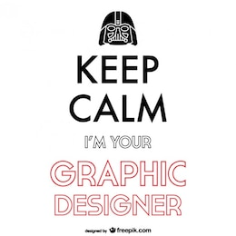Keep calm graphic design poster